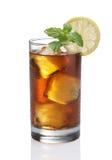 Tè del limone del ghiaccio Fotografia Stock Libera da Diritti