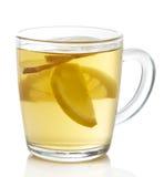 Tè del limone dello zenzero Immagine Stock