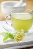 Tè del Linden Immagine Stock