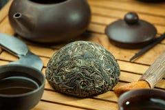 Tè del puer di shen di cinese Immagine Stock Libera da Diritti
