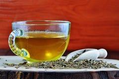 Tè del seme di cumino, acqua di jeera per perdita di peso immagine stock libera da diritti