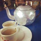 Tè del vaso immagini stock