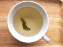 Tè dell'acqua caldo Fotografie Stock Libere da Diritti
