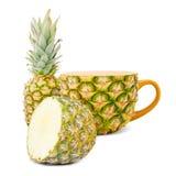 Tè dell'ananas Fotografie Stock