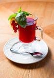 Tè della bacca sulla tavola di legno Fotografia Stock Libera da Diritti