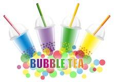 Tè della bolla illustrazione vettoriale