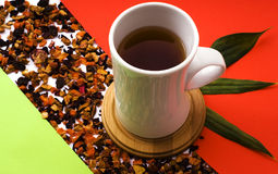Tè della frutta Immagine Stock Libera da Diritti