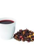 Tè della frutta Fotografia Stock Libera da Diritti