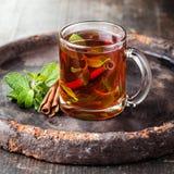 Tè della menta Immagini Stock