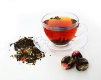 Tè della protezione del tè Fotografia Stock