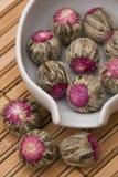 Tè dentellare del fiore fotografia stock