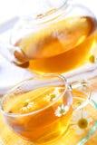 Tè di camomilla Fotografia Stock