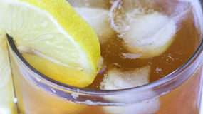 Tè di ghiaccio Fotografia Stock Libera da Diritti