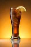 Tè di ghiaccio con il limone immagine stock