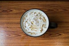 Tè di ghiaccio del latte Fotografia Stock Libera da Diritti