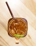Tè di ghiaccio del limone Fotografia Stock Libera da Diritti