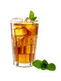Tè di ghiaccio della menta Immagini Stock