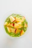 Tè di ghiaccio di Apple Immagine Stock