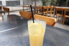 tè di ghiaccio operato Fotografie Stock Libere da Diritti