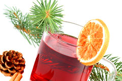 Tè di inverno Immagine Stock