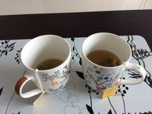 Tè di mattina Immagine Stock