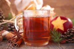 Tè di Natale Immagine Stock