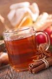Tè di Natale Fotografia Stock
