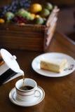 Tè di pomeriggio Fotografia Stock