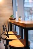 Tè di pomeriggio in una caffetteria Fotografie Stock