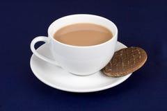 Tè e biscotto Fotografia Stock
