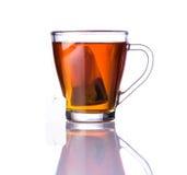 Tè e bustina di tè di Brown Fotografia Stock Libera da Diritti
