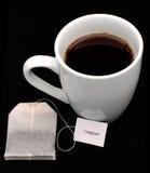 Tè e comodità fotografie stock