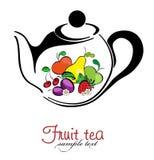 Tè e tè della frutta Fotografie Stock