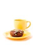 Tè e torta Fotografia Stock Libera da Diritti
