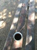 Tè ed all'aperto Fotografia Stock