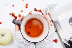 Tè fragrante Immagine Stock