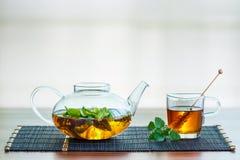 Tè fresco di estate Immagini Stock Libere da Diritti