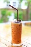 Tè ghiacciato tailandese dolce Immagine Stock Libera da Diritti
