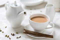 Tè indiano Immagini Stock