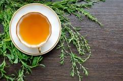 Tè knotweed di erbe naturale organico aromatico immagini stock