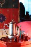 Tè marocchino Fotografia Stock