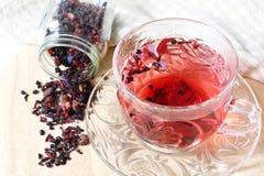 Tè misto della bacca con l'uva passa Immagini Stock