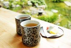 Tè nel giardino Fotografia Stock Libera da Diritti
