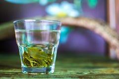 Tè nel vetro Fotografia Stock