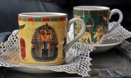 Tè nell'Egitto Immagine Stock
