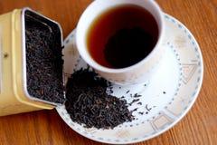 Tè nero Fotografia Stock