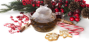 tè più cookiest Fotografia Stock