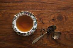 Tè in porcellana cinese Fotografia Stock