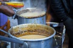 Tè principale di masala e del bazar Fotografia Stock