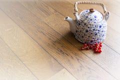 Tè rosso delle bacche Fotografie Stock